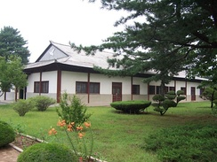 The building where the armistice was signed, now housing the North Korea Peace Museum