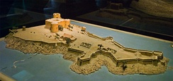 1681 scale model of the château d'If
