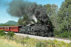 The Cumbres and Toltec Scenic Railroad