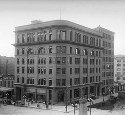 The Deseret News and Union Pacific Building, home of the News from 1903 to 1926