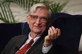 "Wilson at a ""fireside chat"" during which he received the Addison Emery Verrill Medal in 2007"