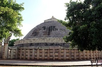 Great Sanchi Stupa Side view.jpg