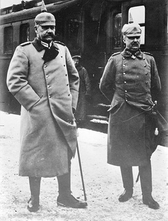 Hindenburg and Ludendorff in 1918
