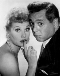Lucille Ball and Arnaz, 1957
