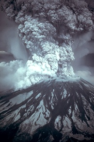 Mount St. Helens erupted on May 18, 1980, at 08:32 PDT.