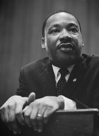 Dr. Martin Luther King, Jr. remains the most prominent political leader in the American civil rights movement and perhaps the most influential African-American political figure in general.