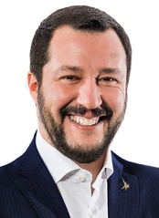 Matteo Salvini, leader of the League and former Deputy Prime Minister of Italy