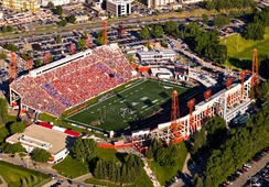 McMahon Stadium is the home stadium for the CFL's Calgary Stampeders and was the Olympic Stadium for the 1988 Winter Olympics.