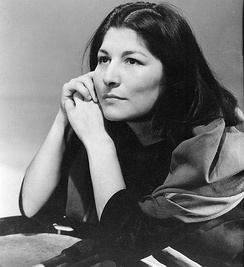 Mercedes Sosa from Argentina was among the very early nueva canción musicians