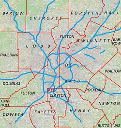 Sandy Springs is located in Metro Atlanta
