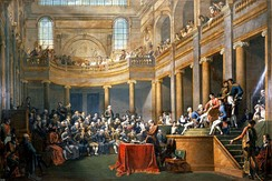 The Consulta of the République cisalpine receives the First Consul on 26 January 1802