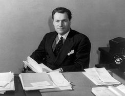 Nelson Rockefeller, Coordinator of Inter-American Affairs and a principal stockholder in RKO Pictures (1940)