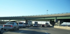 The traffic intersection of Route 17 and Route 4 in Paramus is one of the busiest in the world.[178]