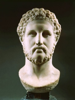 A bust of Philip II, a 1st-century Roman copy of a Hellenistic Greek original