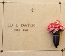 Crypt of Ed Pastor