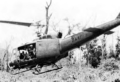 A 9 Sqn UH-1D in Vietnam, 1970