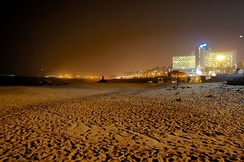 RK Beach at night