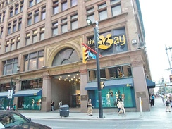 Hudson's Bay Queen Street store in downtown Toronto, the chain's flagship store