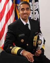 Vivek Murthy, Surgeon General of U.S.; former Vice Admiral of U.S. Health Corps