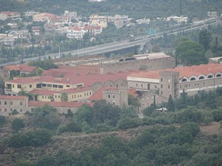 The Achaia Clauss wine factory, founded in 1861 by Gustav Clauss, famous for its Mavrodaphne.