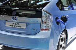 The Toyota Prius Plug-in Hybrid is a series-parallel hybrid.