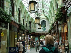 The Royal Arcade, designed by George Skipper, opened in 1899.