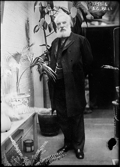Alexander Graham Bell in his later years