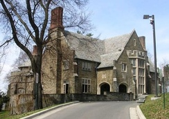 The chapter house of Alpha Delta Phi at Cornell University