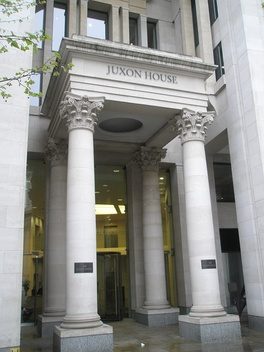 Phoenix Group's head office at Juxon House in London