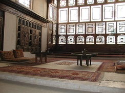 Bayt Al-Suhaymi, a historic house and mansion off al-Muizz street.