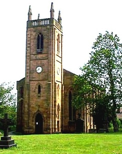 St Paul's Church in the Hanging Heaton area of Batley