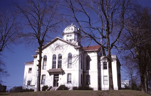 Jackson County courthouse in Jefferson