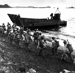 The Landing Craft Mechanized was designed by Inter-Service Training and Development Centre from 1938 as the first specialized amphibious ship for the transportation of tanks.