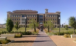 Paul L. Foster School of Medicine within Texas Tech University HSC at El Paso's campus