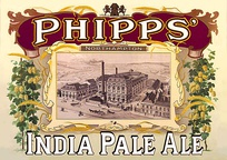 A 19th-century poster for Phipps India Pale Ale (IPA) showing the Northampton Brewery on Bridge Street, now the site of Carlsberg UK