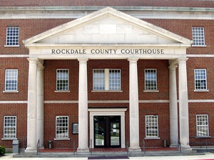 Rockdale County Courthouse in Conyers