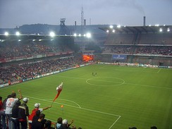 Stade Maurice Dufrasne, home to football club Standard Liège.
