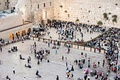 The Western Wall, also known as the Wailing Wall and in Hebrew as the Kotel