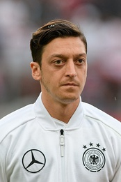Mesut Özil played for Germany national football team.