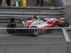 Mick Schumacher during the FIA Formula 3 round at Norisring in 2018.