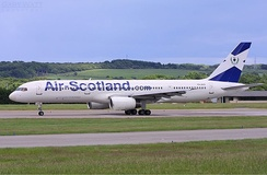 Air Scotland, founded in 2002, largely served as Scotland's flag carrier until it ceased operations in 2005