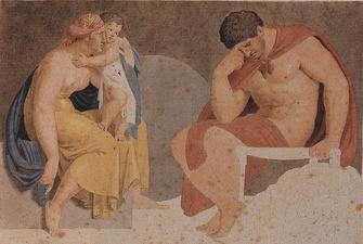 Sorrowful Ajax with Tecmessa and Eurysaces, 1791