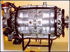 Almen A-4 barrel engine
