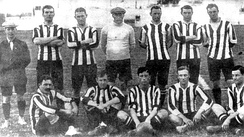 Although the team decreased its goal average, Alumni won another championship in 1910