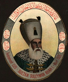 The Sultan Suleiman I is considered one of the most famous Ottoman sultans.