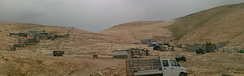 Bedouin encampment in the Negev Desert