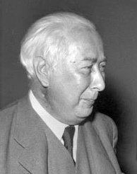 Theodor Heuss, first chairman of the FDP and first President of West Germany