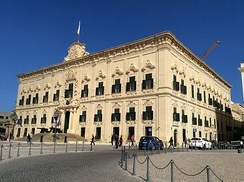 Auberge de Castille, the Office of the Prime Minister
