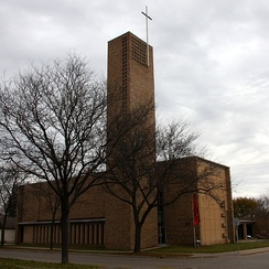 Christ Church Lutheran in Minneapolis, built in 1948.