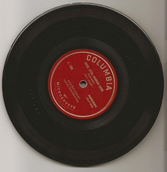Uncommon Columbia 7-inch vinyl ​33 1⁄3 rpm microgroove ZLP from 1948